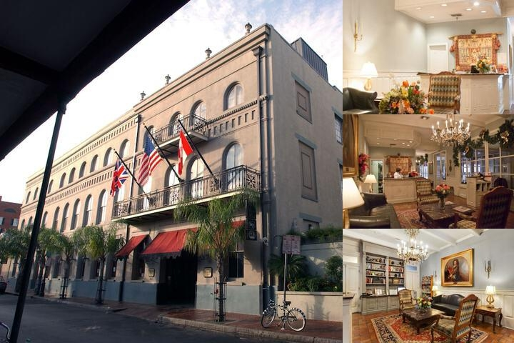 Prince Conti French Quarter Hotel photo collage