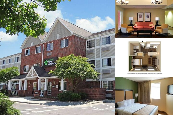 Extended Stay America Raleigh Northeast photo collage