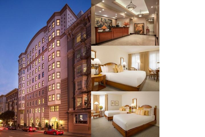 Orchard Hotel photo collage