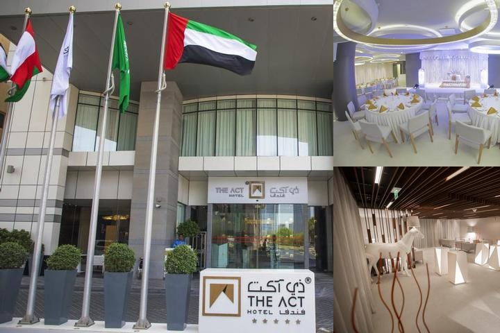 The Act Hotel Sharjah photo collage