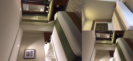 New York Hotel photo collage