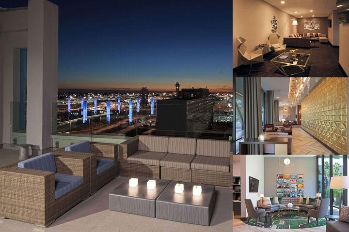 H Hotel Curio Collection by Hilton / Homewood Suites Lax photo collage