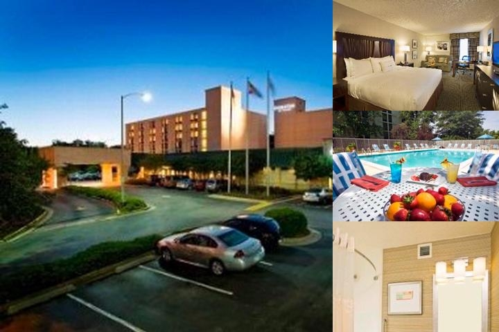 Doubletree by Hilton Baltimore BWI Airport photo collage