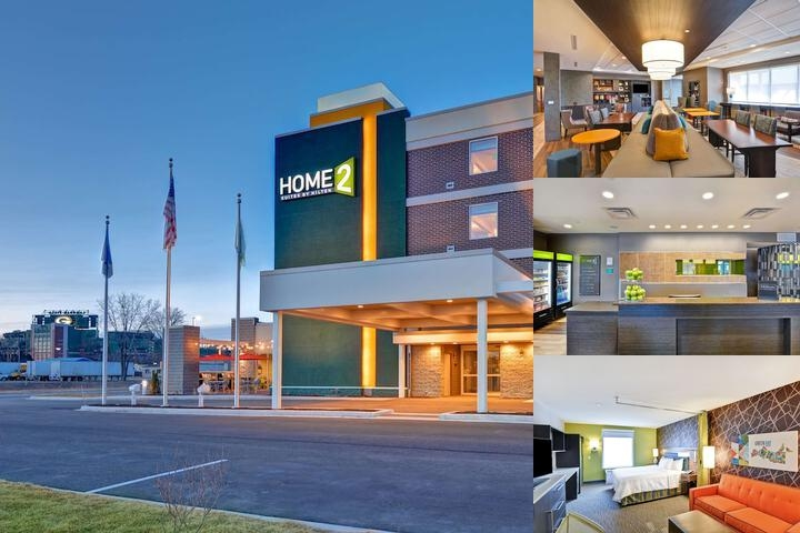 Home2 Suites by Hilton Green Bay photo collage