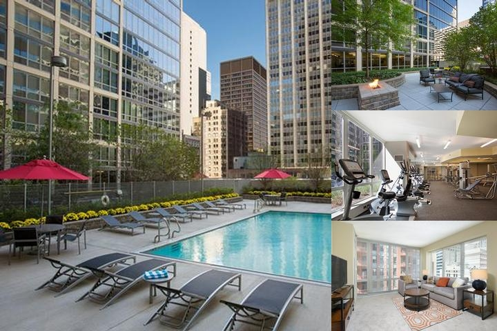 Global Luxury Suites at the Chicago Loop photo collage