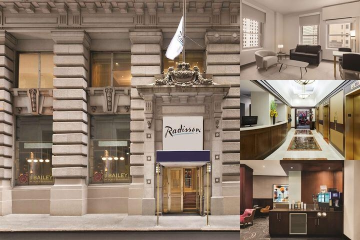 Radisson Wall Street photo collage