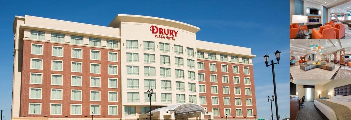 Drury Plaza Hotel St. Louis St. Charles photo collage