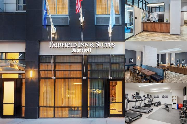 Fairfield Inn & Suites by Marriott Ny Downtown Manhattan photo collage