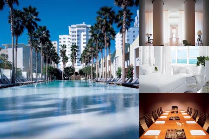 Delano South Beach photo collage