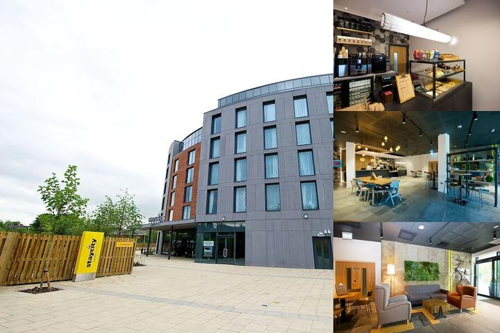 Staycity Aparthotels Paragon Street photo collage