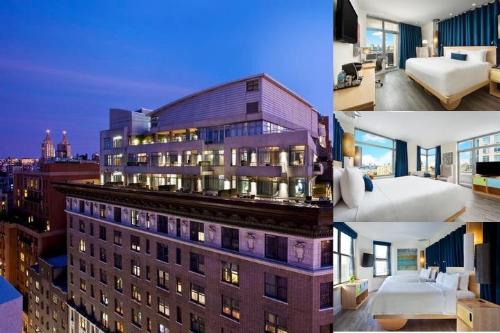 Arthouse Hotel photo collage
