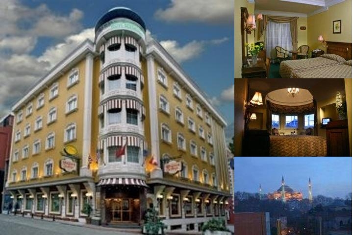 Yasmak Sultan Hotel photo collage
