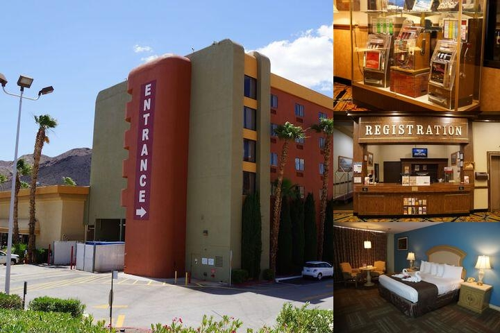 Railroad Pass Hotel & Casino photo collage