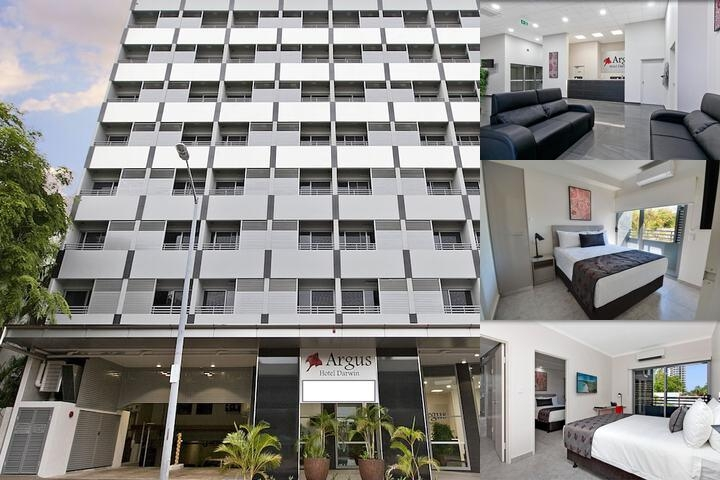 Argus Hotel Darwin photo collage