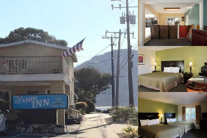 Seaside Inn Morro Bay photo collage