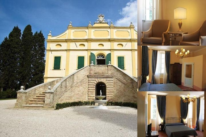 Villa Rinalducci photo collage