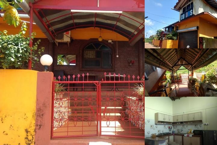 Colours Guest House Anjuna Goa photo collage