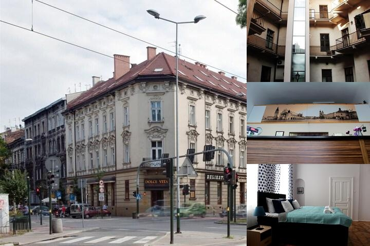Apartmentsapart Krakow Photo Collage