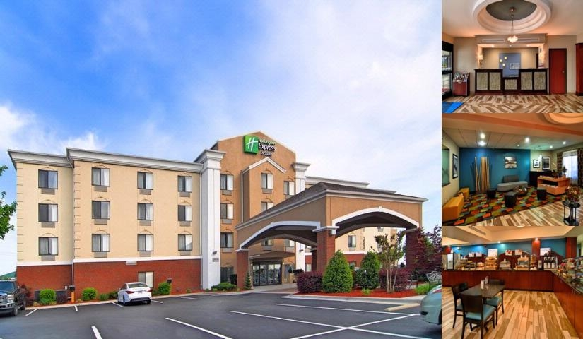 Holiday Inn Express & Suites Roanoke Rapids Se photo collage