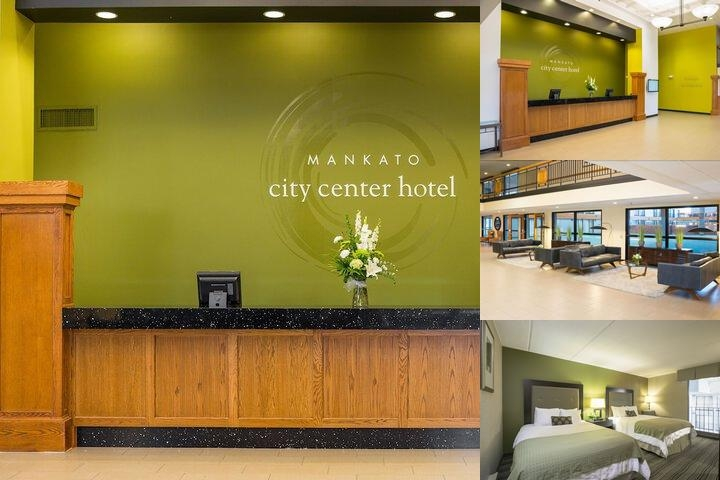 Mankato City Center Hotel photo collage
