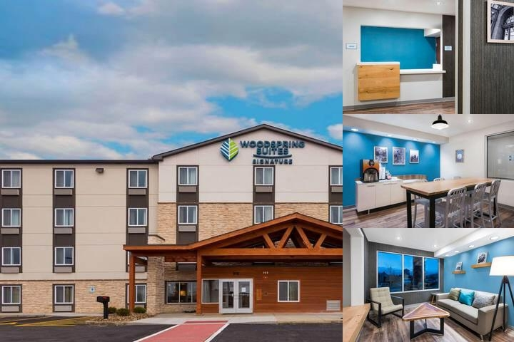 Woodspring Suites Signature Cranberry photo collage