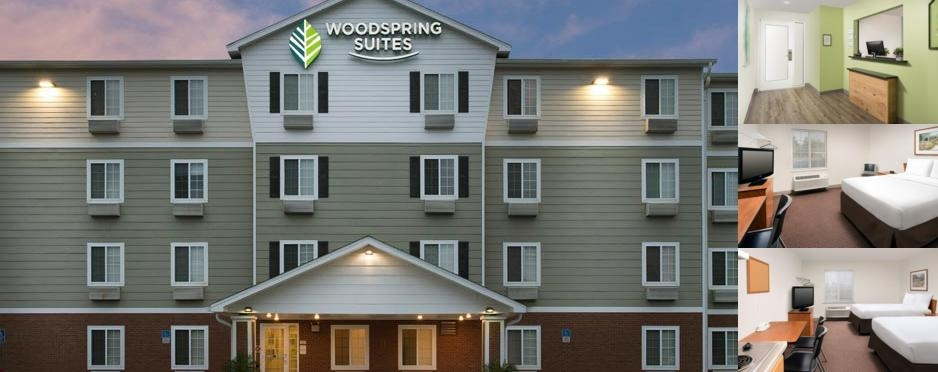 Woodspring Suites photo collage