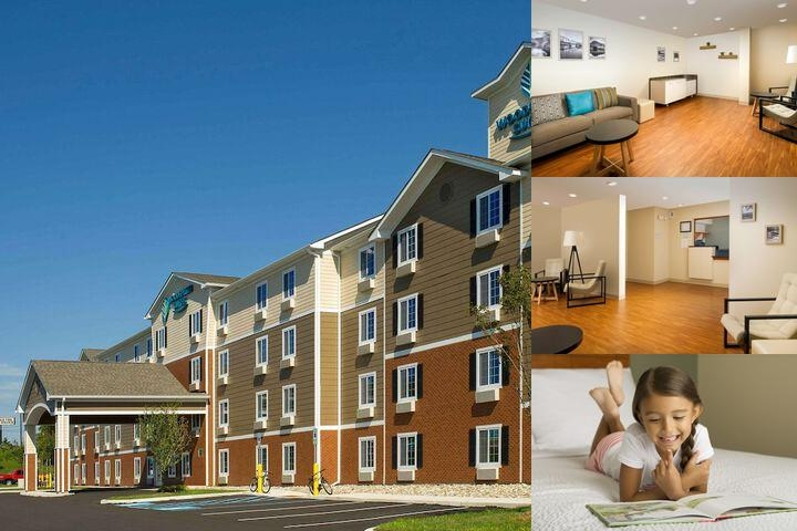 Woodspring Suites Allentown photo collage