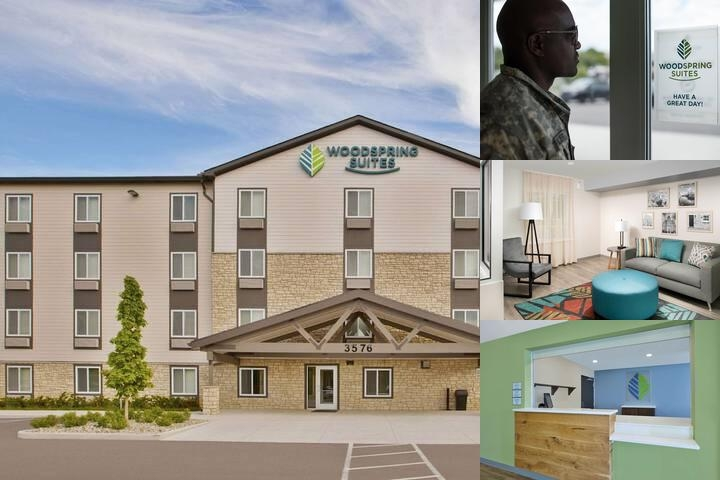Woodspring Suites Detroit Rochester Hills photo collage