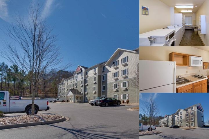 Woodspring Suite Cleveland Airport photo collage