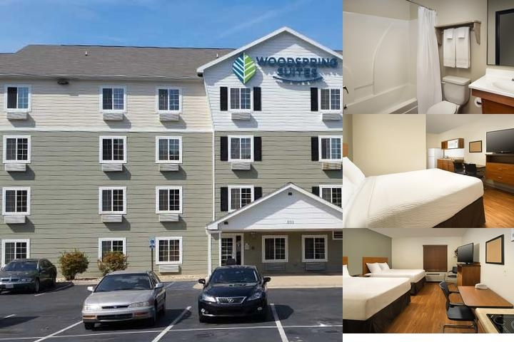 Woodspring Suites Pensacola Northwest photo collage