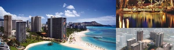 Hilton Hawaiian Village Waikiki Beach Resort photo collage