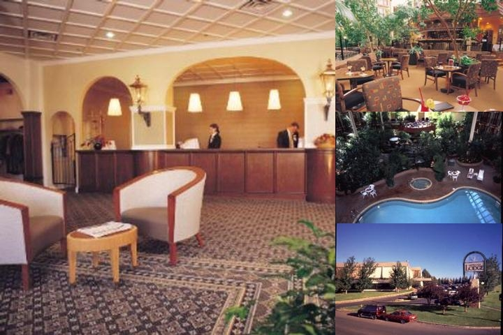 Sandman Signature Lethbridge Lodge Hotel photo collage