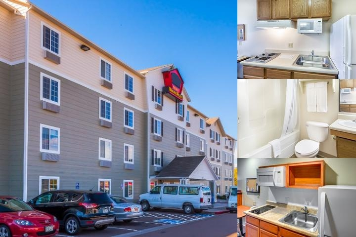 Woodspring Suites Wichita North photo collage