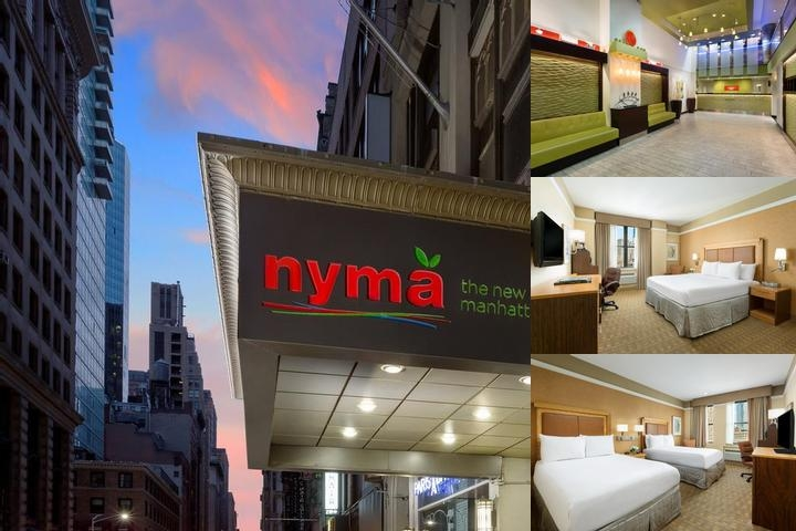 Nyma The New York Manhattan Hotel photo collage