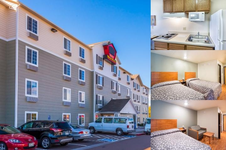 Woodspring Suites Charleston Airport photo collage