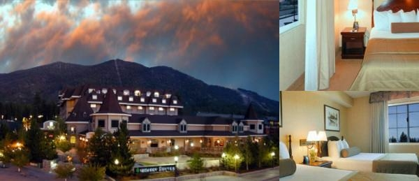 Lake Tahoe Resort Hotel photo collage