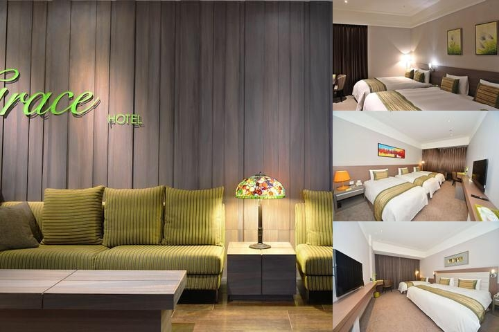 Grace Hotel photo collage