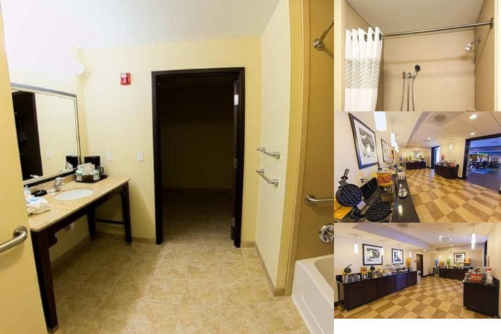 Hampton Inn Dekalb photo collage