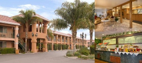 Merced Inn & Suites photo collage