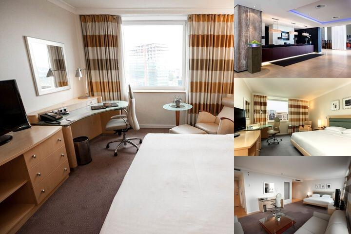 Hilton Dusseldorf photo collage