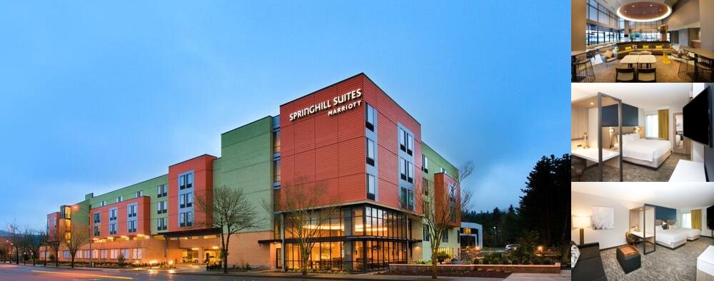 Springhill Suites by Marriott Seattle Issaquah photo collage