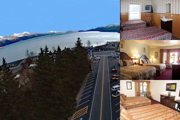 Hotel Seward photo collage