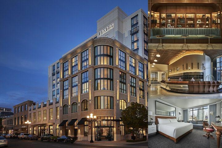Pendry San Diego photo collage