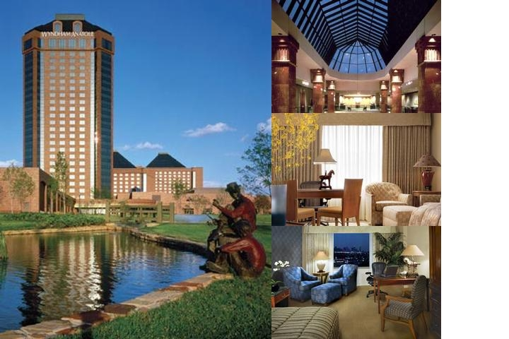Wyndham Anatole Hotel photo collage