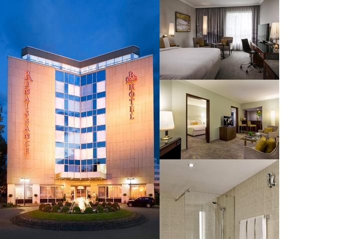 Renaissance Duesseldorf Hotel photo collage