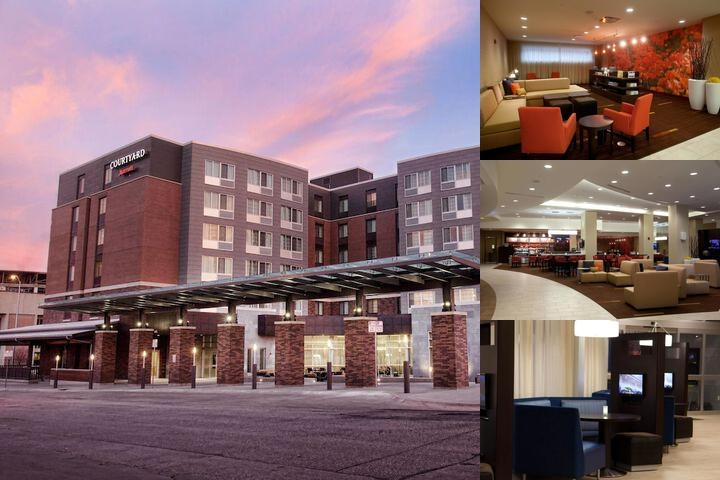 Courtyard by Marriott Lincoln Downtown photo collage