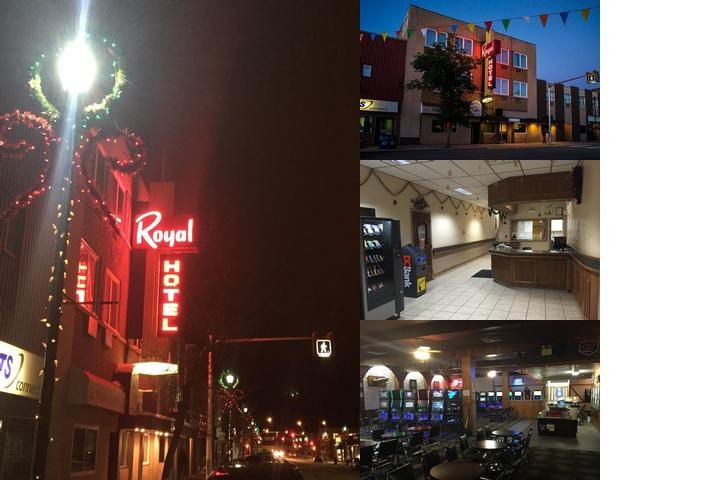 Royal Hotel photo collage