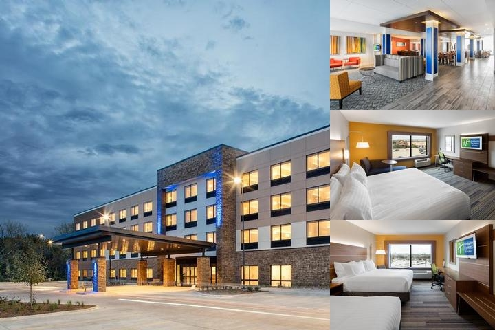 Holiday Inn Express & Suites East Peoria Riverfront photo collage