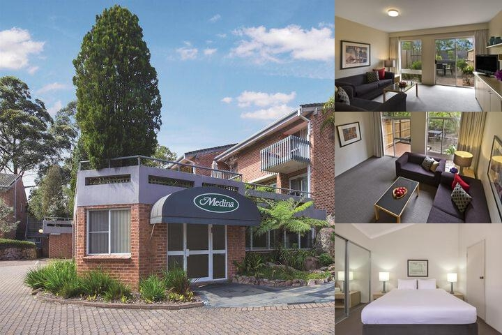 Medina Serviced Apartments North Ryde Sydney photo collage