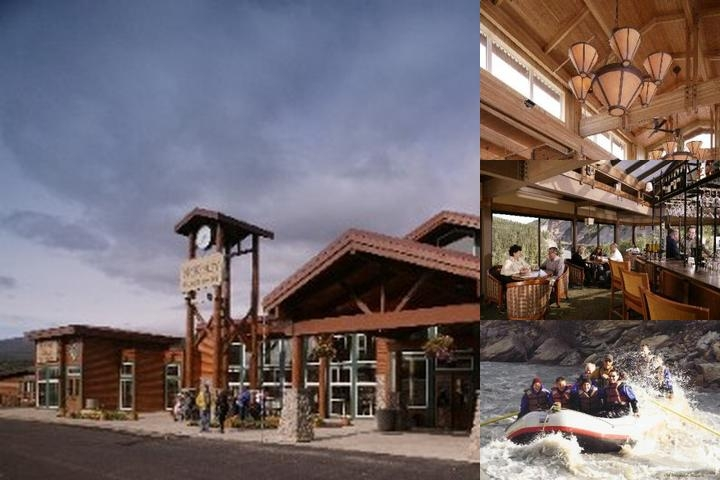 Denali Chalets photo collage
